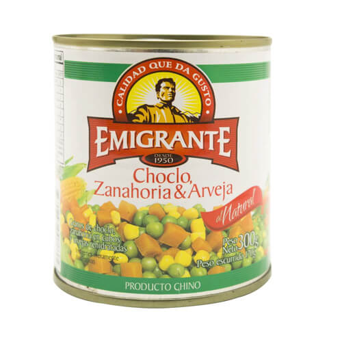 Choclo Zanahoria Arveja Emigrante 300 Grs Tito Tienda Gourmet ¡prueba este aguado de pollo con arvejitas y zanahorias facundo! choclo zanahoria arveja emigrante 300 grs